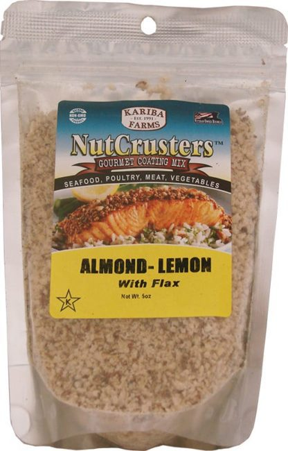 Nutcrusters Almond Lemon Packed Bag