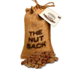 Honey Roasted Peanuts Nut Sack Gift Bag