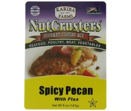 NutCrusters Spicy Pecan with Flax Gourmet Coating