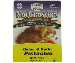 NutCrusters Onion & Garlic Pistachio with Flax Gourmet Coating
