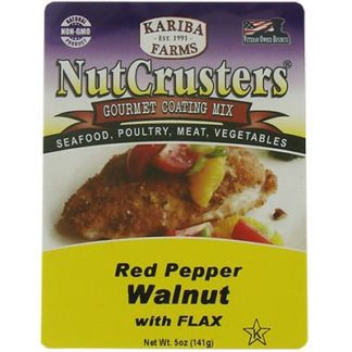NutCrusters Red Pepper Walnut with Flax Gourmet Coating