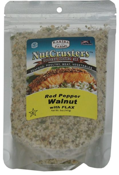 NutCrusters Red Pepper Walnut Filled Bag 5.5oz