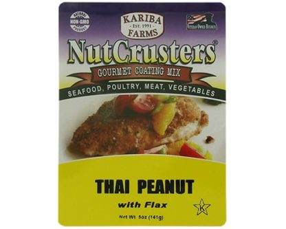 Thai Peanut NutCrusters with Flax