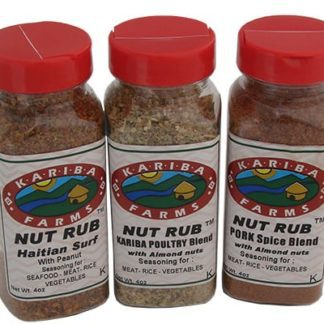 3 Pack Nut Rub Assortment Barbecue Pack