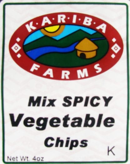 Spicy Mixed Vegetable Chips