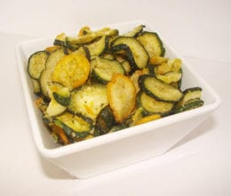 All Natural Zucchini Chips