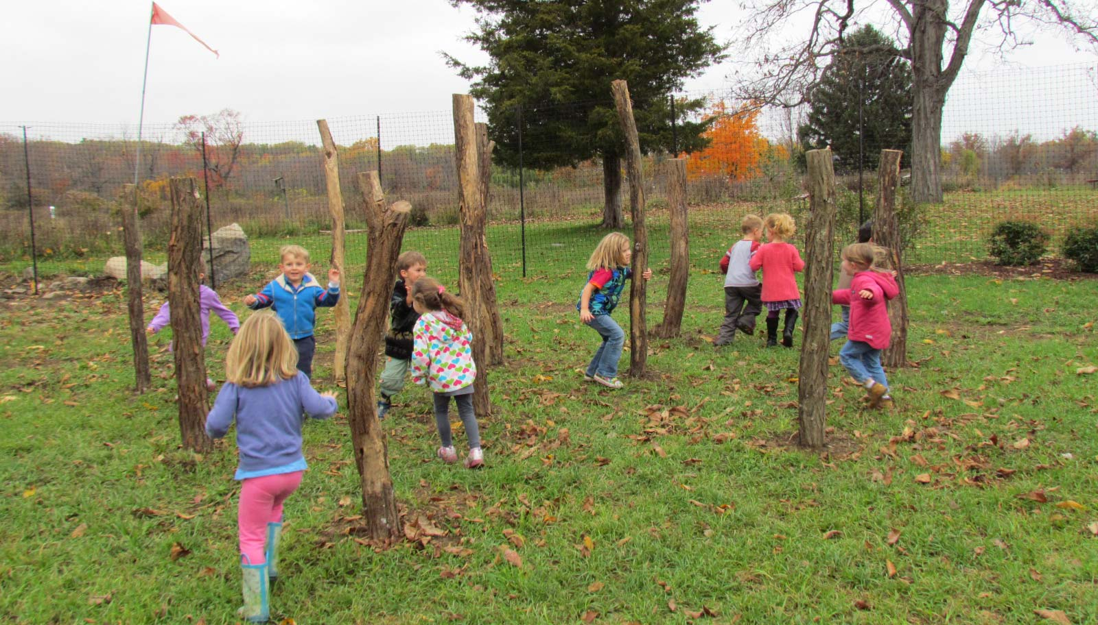 Grasshopper Grove Nature Play Area (Good for toddlers!)