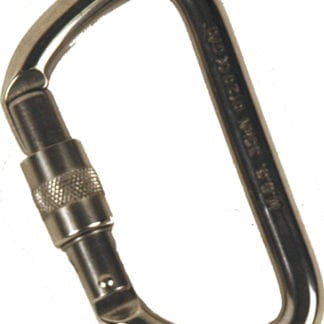 Stainless Steel Rescue Carabiners